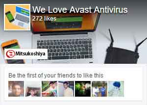 Follow GetAvast.net on Facebook